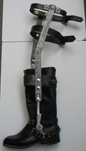 how to make mad max leg brace