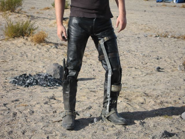 How to Make Max's Leg Brace - Mad Max Costumes
