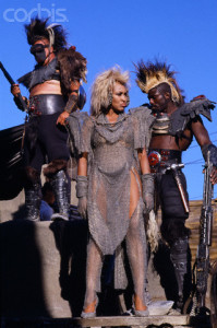 On the Set of Mad Max Beyond Thunderdome