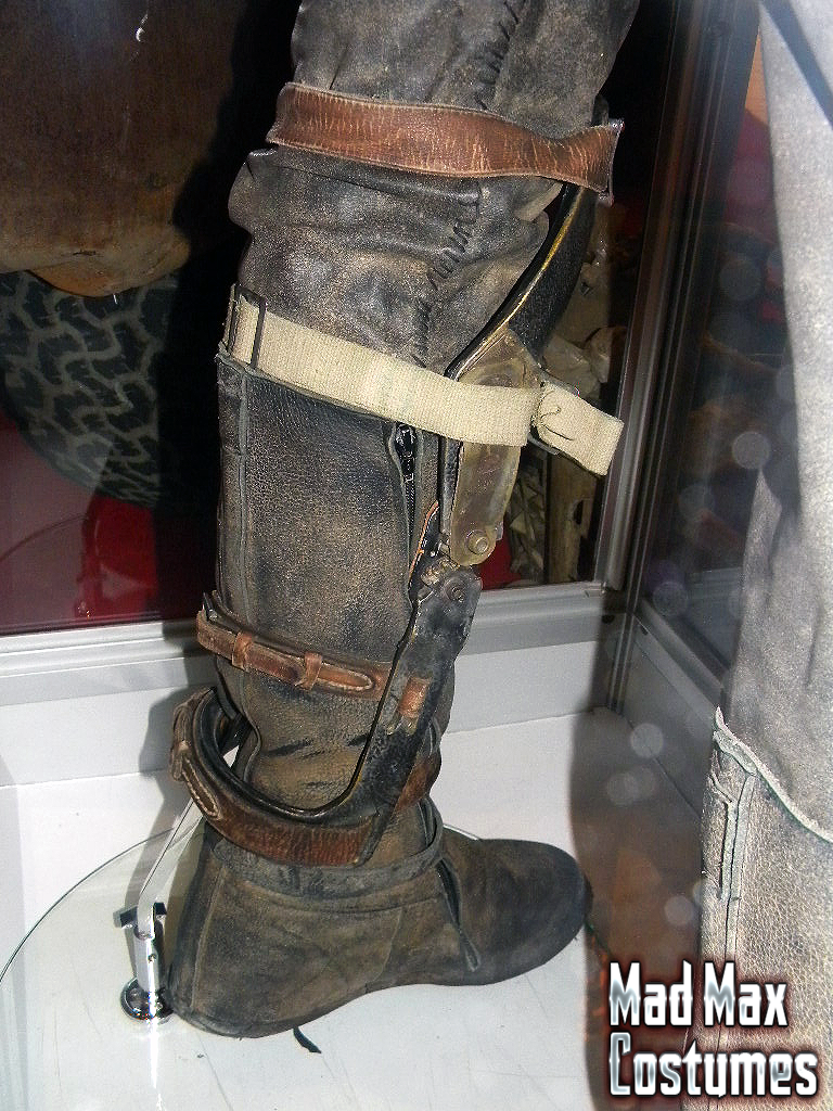 Maxs Fury Road Boot Gallery Mad Max Costumes